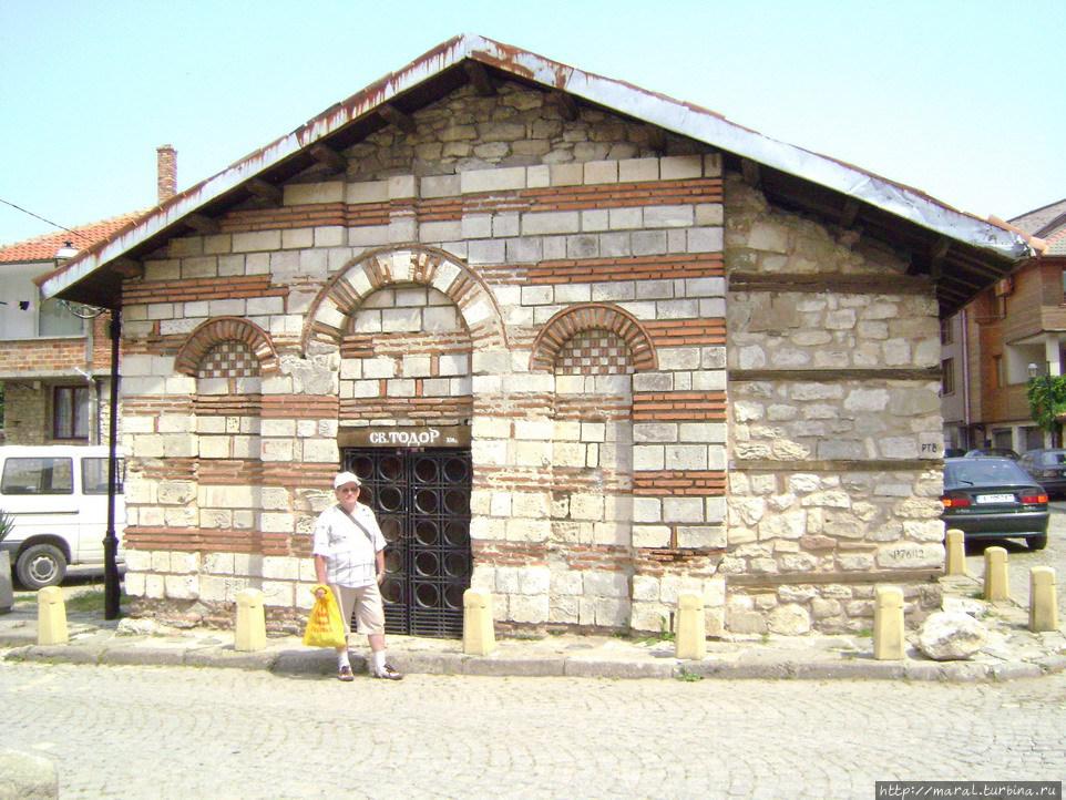 Церковь св. Тодора_XIII век
