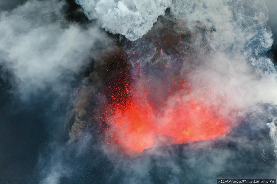Толбачик. История одного извержения. Часть 2 Толбачинский дол (вулкан Острый Толбачик 3682м), Россия