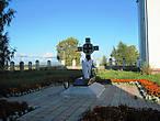 Могила протоиерея Михаил Яворского, трагически погибшего в 2004 году.