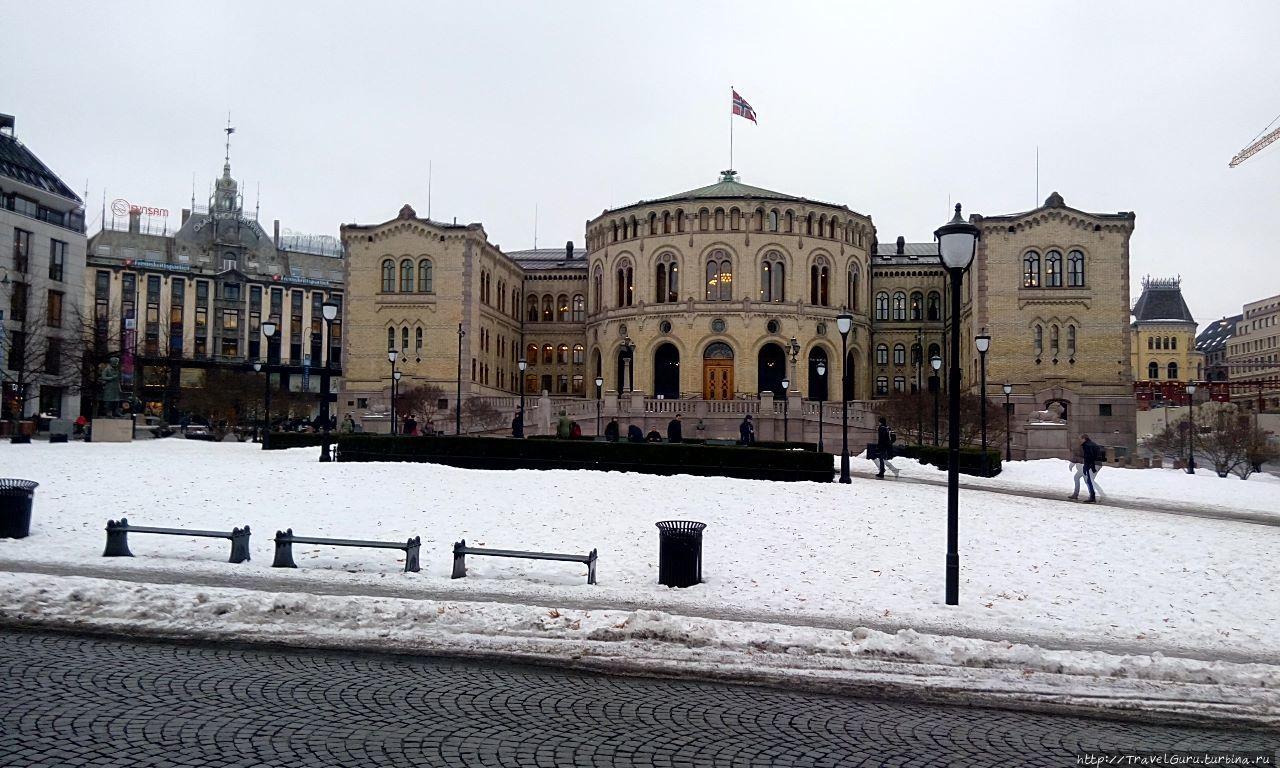 Стортинг — норвежский пар