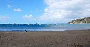 Океанский залив в Сан Хуан дуль Сур