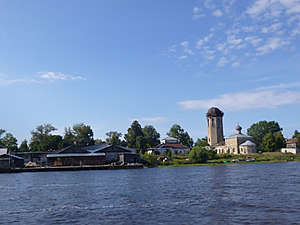 Устье реки Волхов