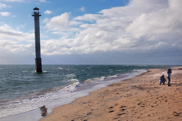 Падающий маяк в 2012-м го