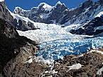 Ледник  в районе фьёрдов