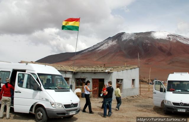 На боливийской погранзаст