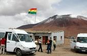 На боливийской погранзаставе. Высота 4700 м.