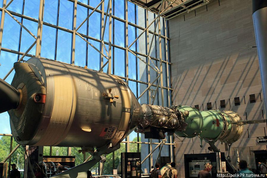 Реконструкция стыковки Союз-Аполлон.
