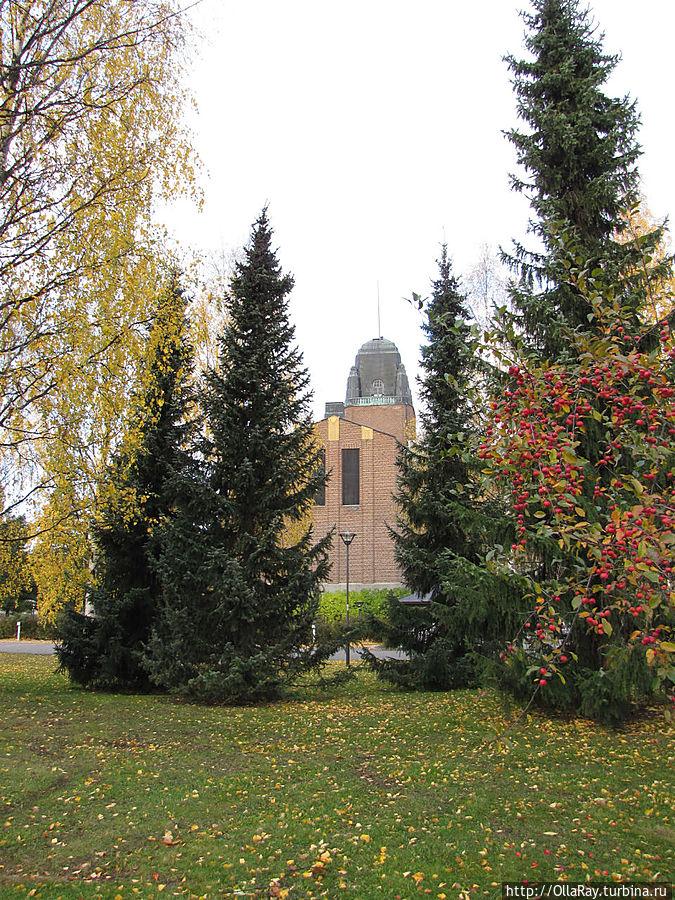 Парк у ратуши.
