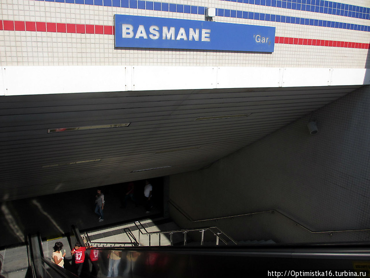 Станция метро Басмане ряд
