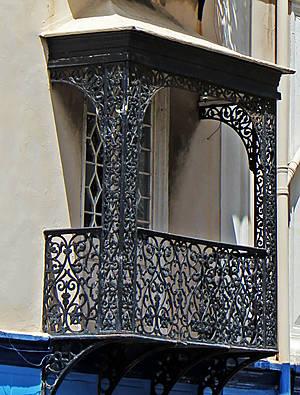 Такие балконы не могут не обратить на себя внимание