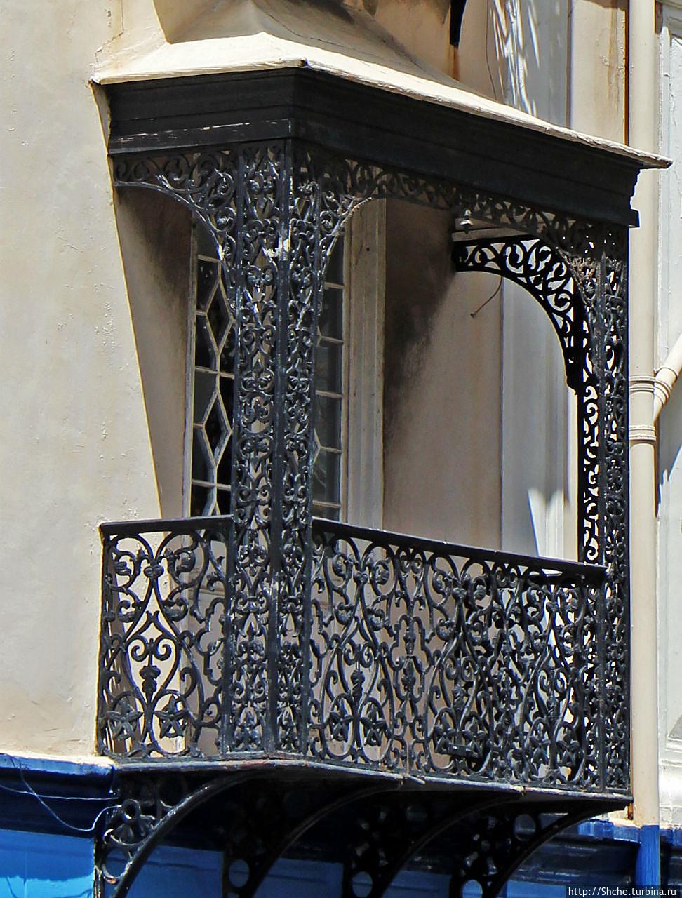 """Гибралтарская """"фишка"""" - металлические ажурные балконы (гибра."""
