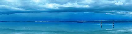 солнце облака и отражения рисуют иногда картины удивительнейших оттенков