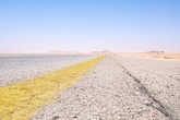 Но, к счастью, на верблюде по пустыне ехать не пришлось, так как рядом пролегает довольно неплохая асфальтная дорога.