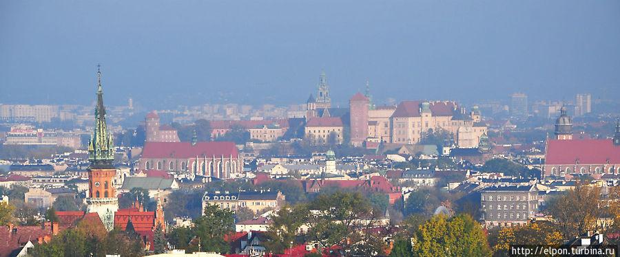Вид на Старый Город с кургана Кракуса