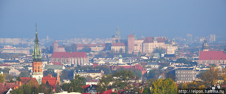 Вид на Старый Город с кур