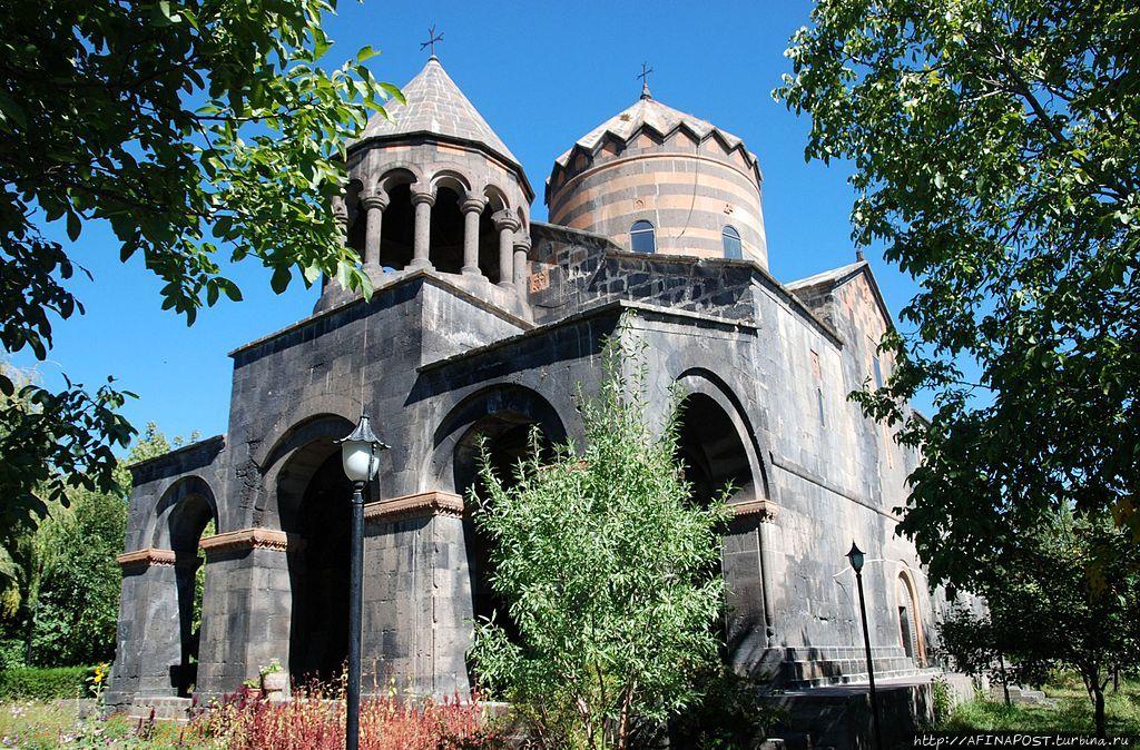Монастырь Георгия Победоносца в Мугни. По просьбе трудящихся