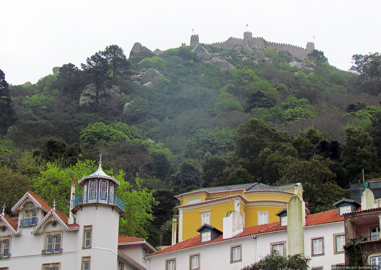 Мавританский замок в Синтре Синтра, Португалия