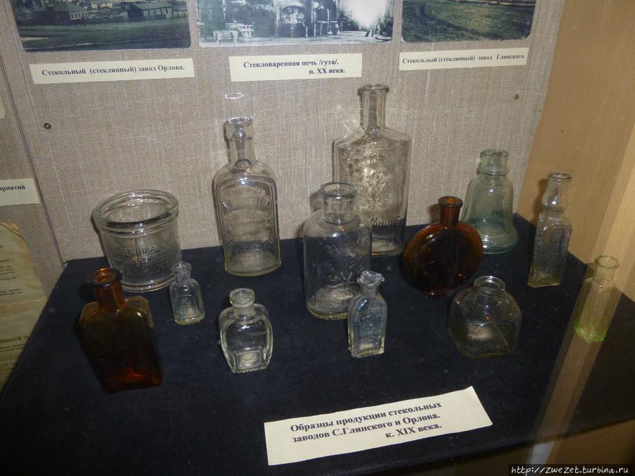 Продукция клинского стекольного завода, выпускающего аптечную посуду