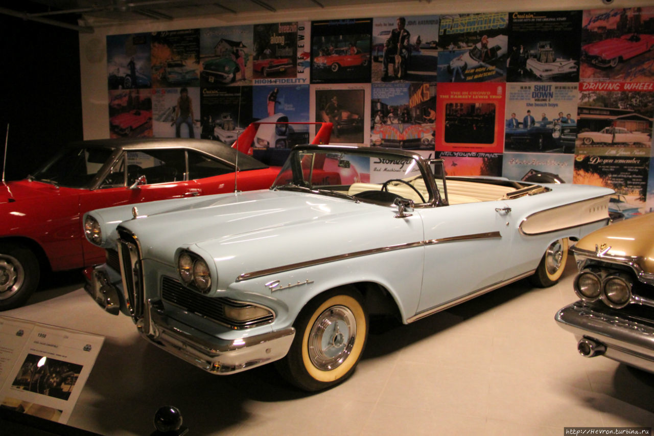 EDSEL PACER CONVERTIBLE 1958 года.
