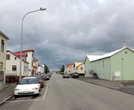 В городке Саударкроукюр всего одна большая улица