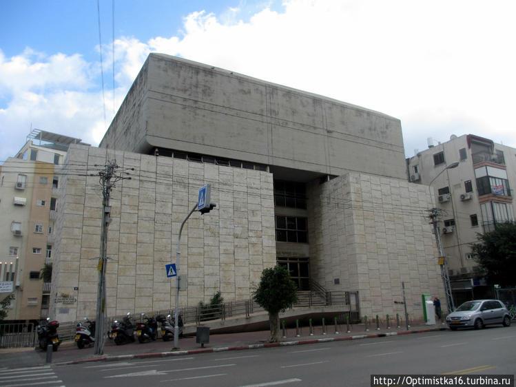 Синагога на улице Ben Yeh