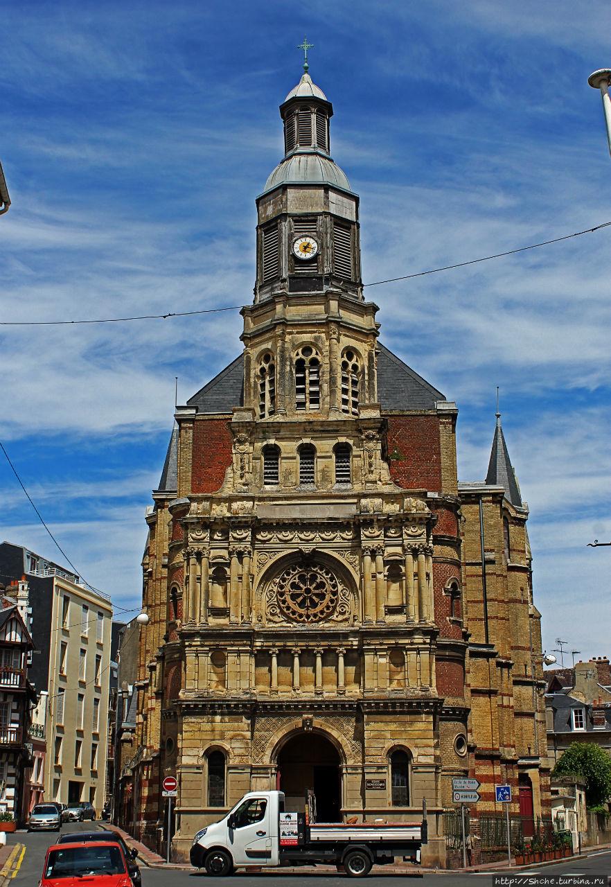 Церковь Богоматери Доброй помощи в Трувиле (19 век)