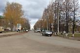 Одна из центральных улиц города — 50 лет Октября