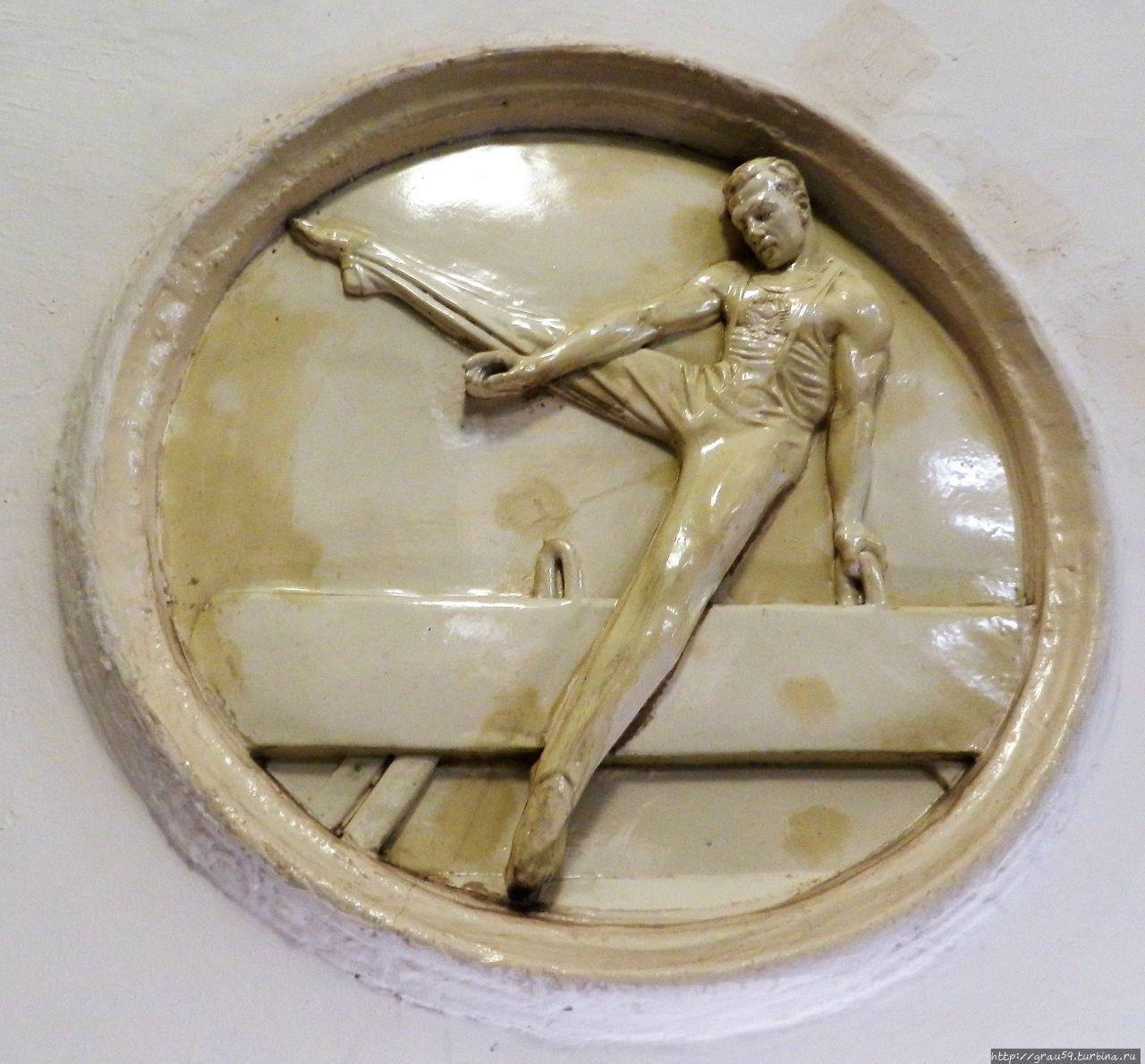 Гимнаст, упражнения на ко