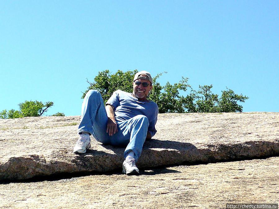 Заколдованная скала, Центральный Техас. Выход розовых гранитов. Моаб, CША