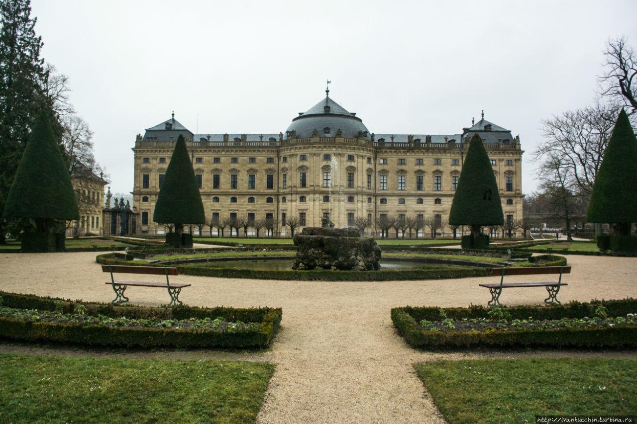 Резиденция, похожая на Версаль
