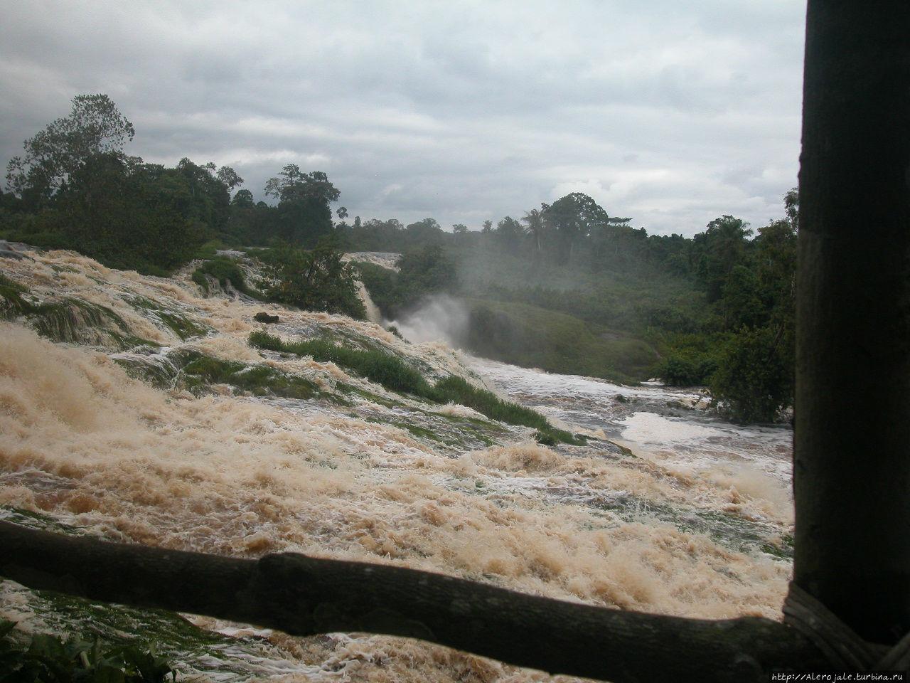 Водопады Конгу Канго, Габон