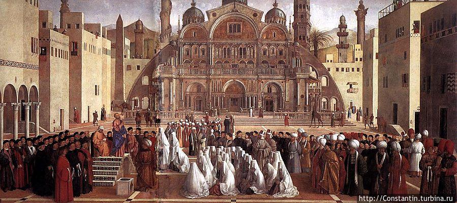 Джованни Беллини — Проповедь Святого Марка в Александрии