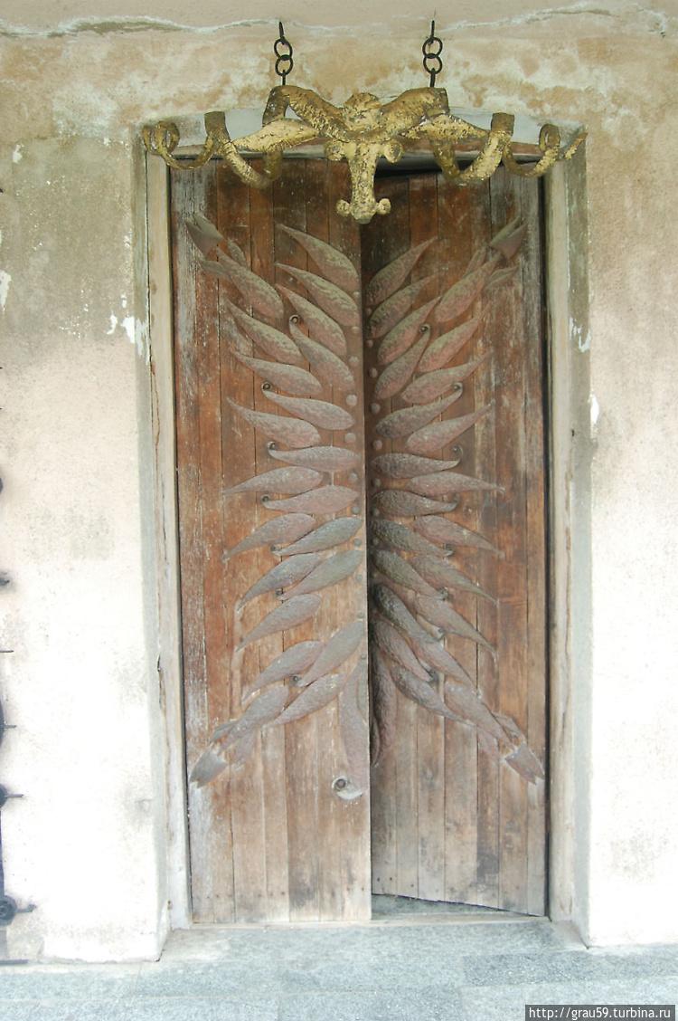Узоры входной двери