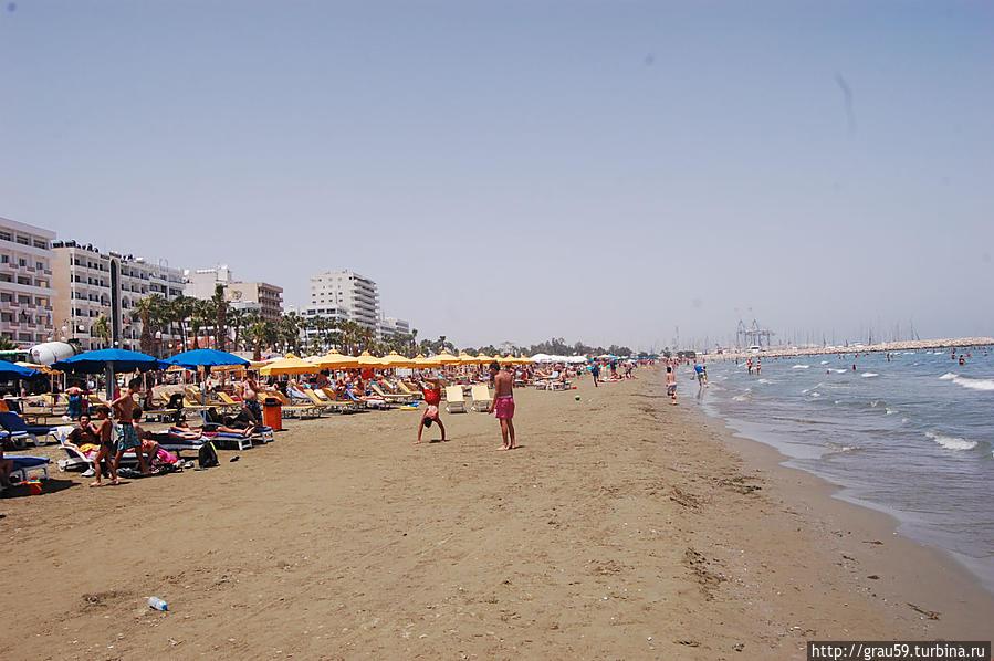 Песчаные пляжи ларнаки