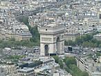 Арка построена 1806 1836 годах архитектором Жаном Шальгреном по приказу Наполеона