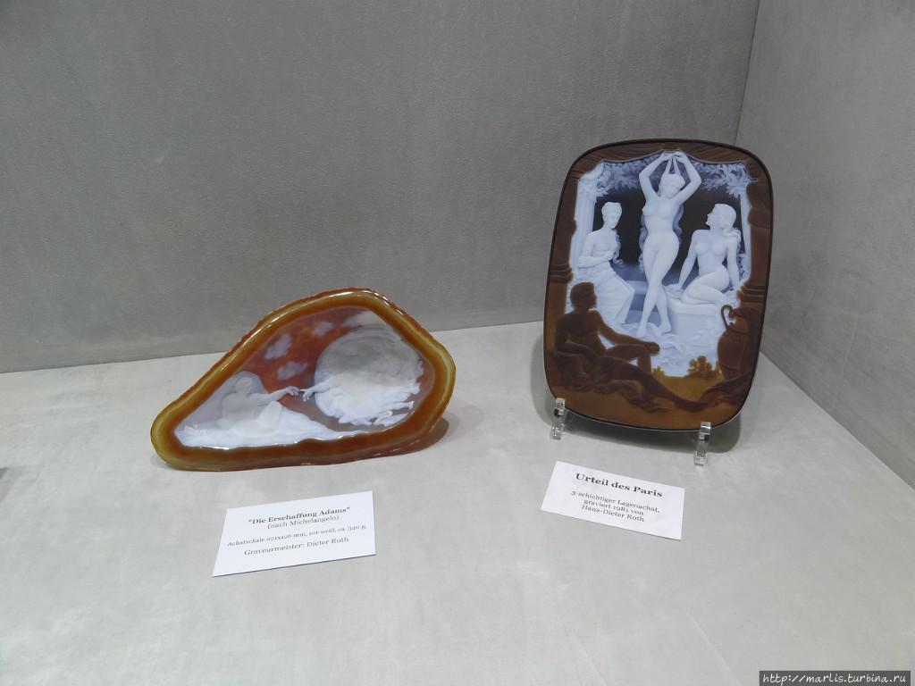 Експонаты Минаралогического музея