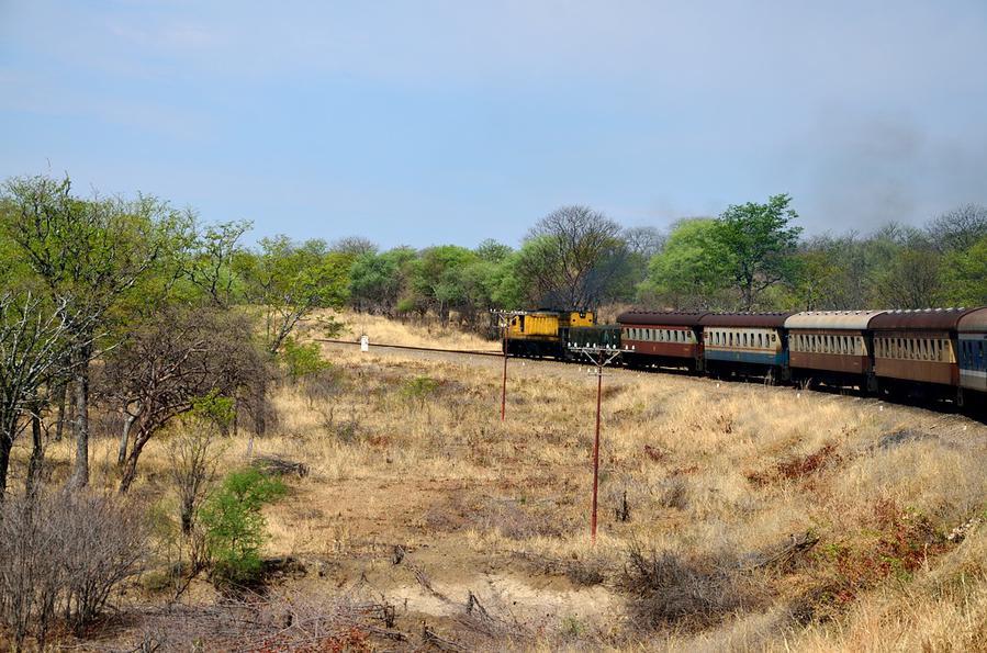 Туристический поезд везет также и уголь :)