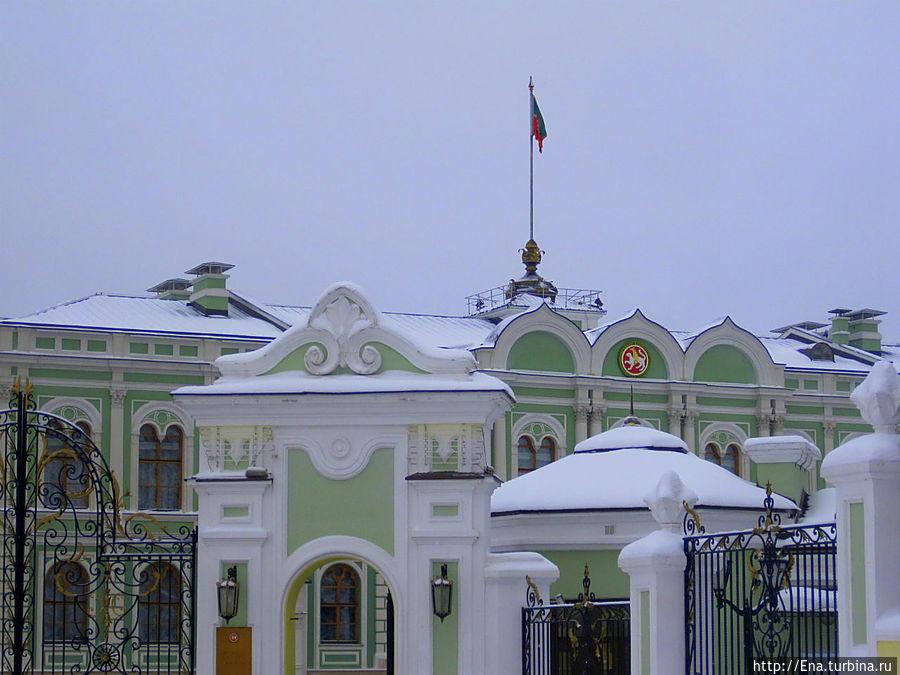Губернаторский дворец — резиденция Президента Татарстана