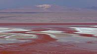здесь художник природа попрактиковалась в рисовании красными и белыми красками