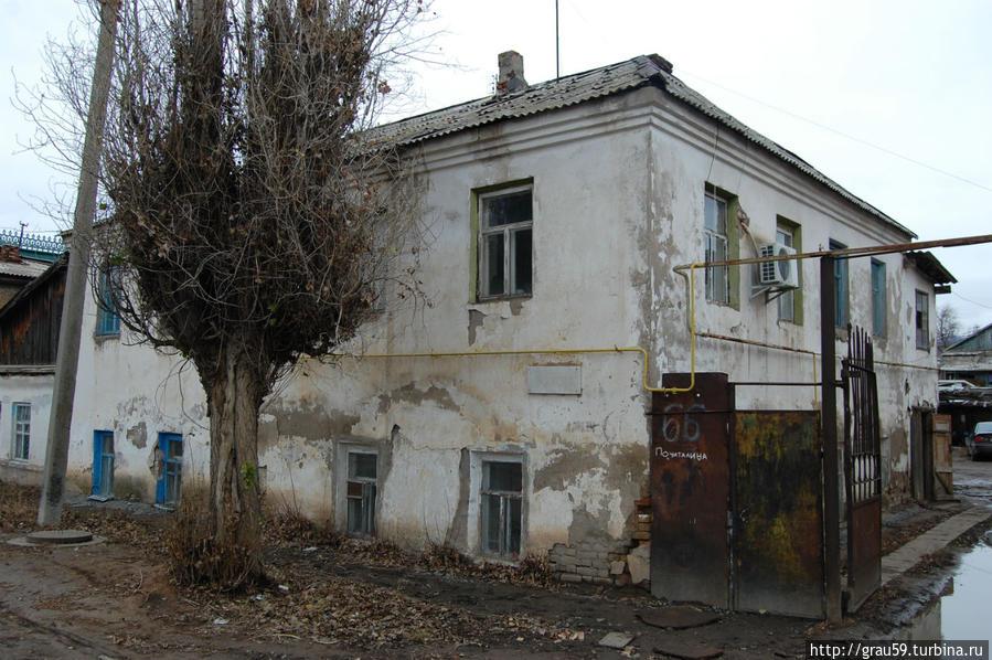 Так выглядело здание в ноябре 2012 года (моё фото)