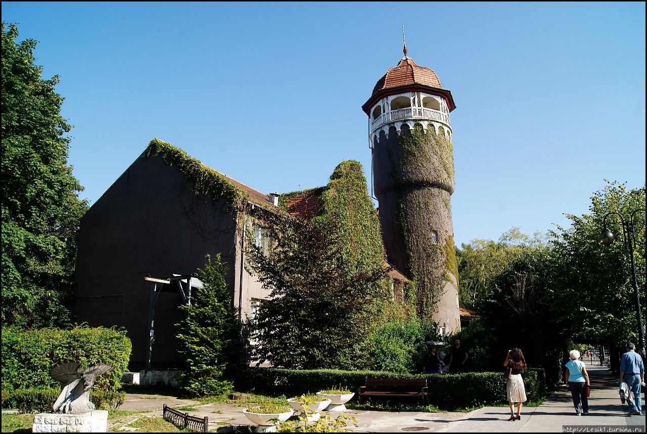 Водонапорная башня Раушена Светлогорск, Россия