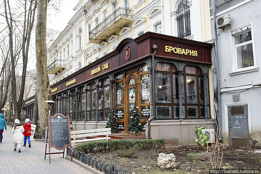 Пивной сад Одесса, Украина