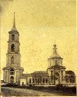 фото из интернета. Никольский храм с колокольней.