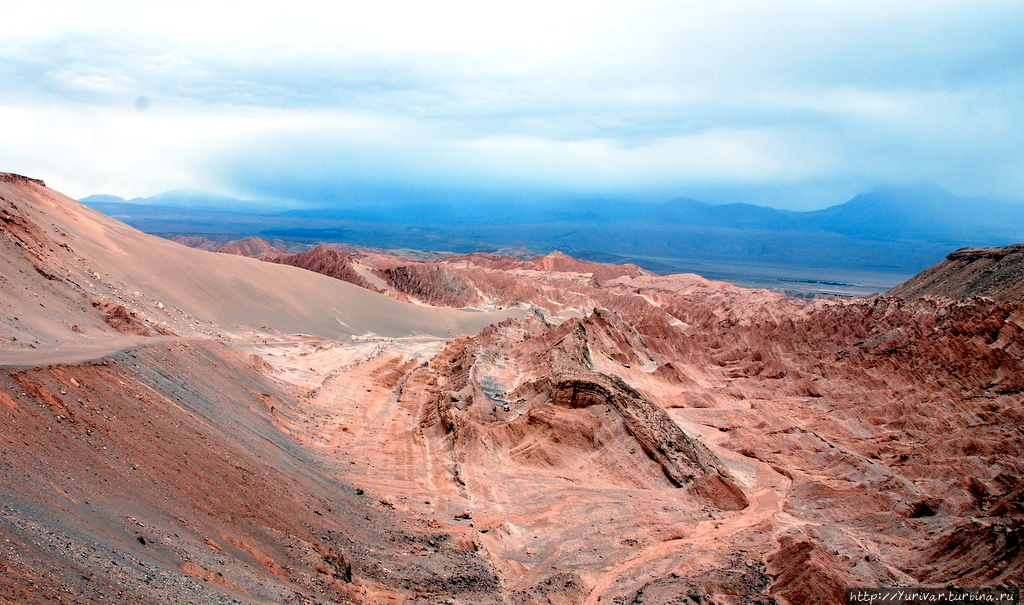 Лунная долина в Чили Сан-Педро-де-Атакама, Чили