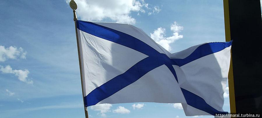 Благодаря славным  победам адмирала Ушакова стал гордо реять Андреевский флаг