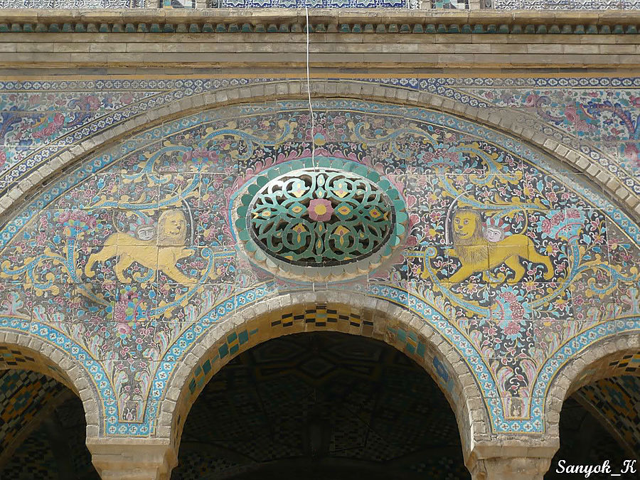 Дворец Голестан Тегеран, Иран
