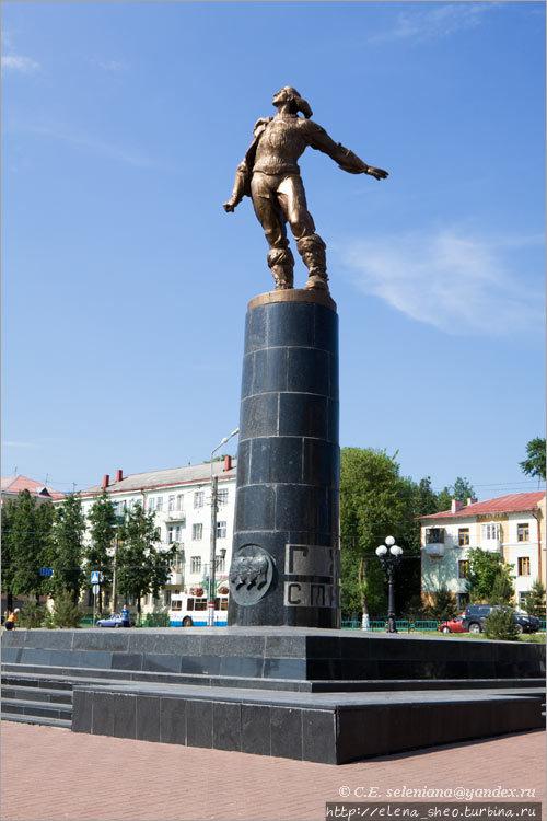 2.Памятник стратонавтам.
