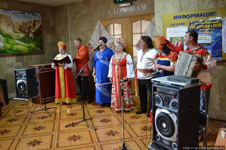 Концерт русской песни
