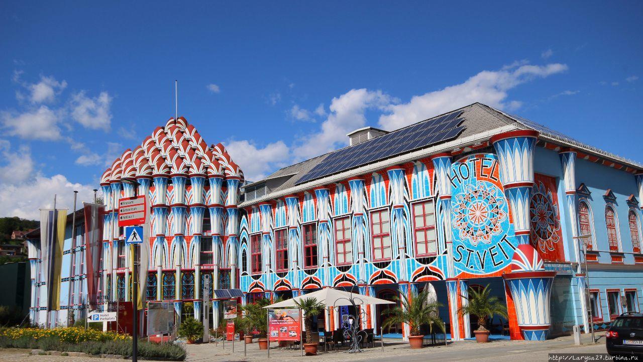 Эрнст Фукс дворец