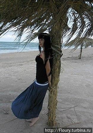 На пляже Федотовой косы